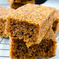 Honey Carrot Cake Bars